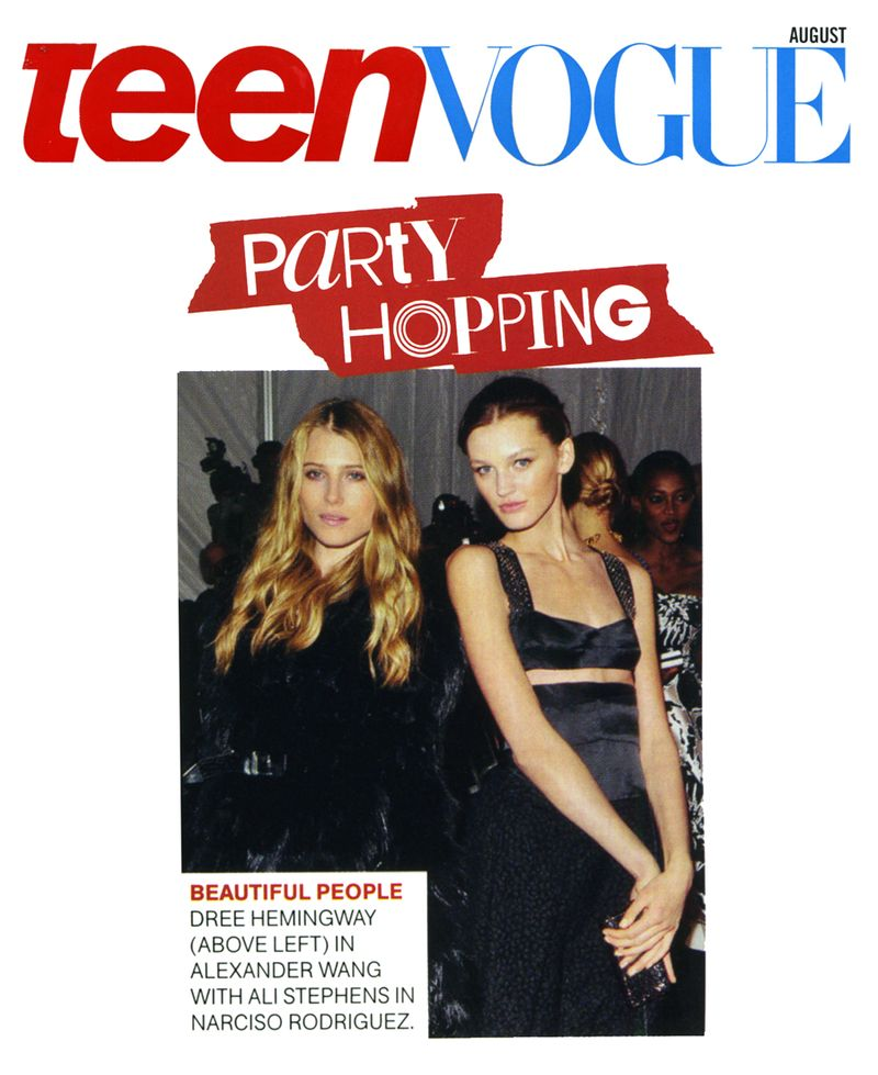 Ali Teen Vogue August 2009
