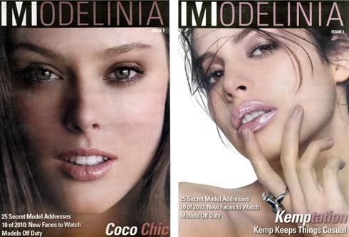 MODELINIA COCO AND KEMP