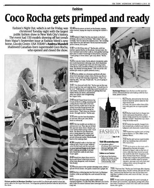 COCO USA TODAY SEPT BLOG